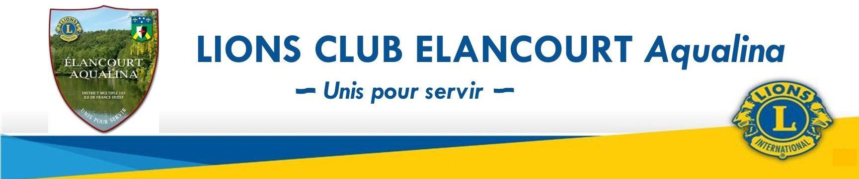 Lions club ÉLANCOURT Aqualina